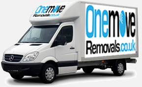 Onemove House Removals man with van